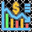Finance Down Chart Down Graph Chart Icon