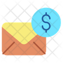 Iemail Dollar Finance Email Banking Email Icon