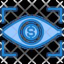 Finance Eye Focus Icon