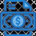 Make Money Finance File Earnings Icon