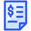 Payment Finance Finance File Finance Document Icon