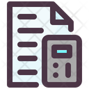 Finance File Icon
