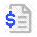 File Money Financial Statements Icon