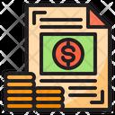 Money Coin Files Icon