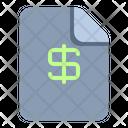 Finance File File Finance Finance Icon