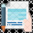Finance File Bookkeeping Finance Icon