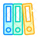 Accounting Report Folders Icon