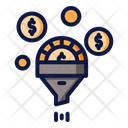 Finance Filtering Icon