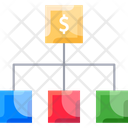 Stock Exchangem Finance Flow Finance Structure Icon
