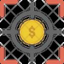 Finance Focus Focus Target Icon