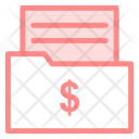 Folder Finance Files Icon