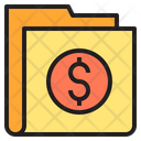 Money Bussiness Folder Icon