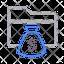Dollar Bag Folder Icon