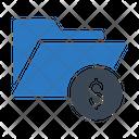 Folder Directory Dollar Icon