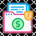 Insurance Agreement Folder Icon