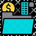 File Financial Loan Icon