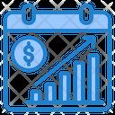 Finance Graph Calendar Graph Graph Icon