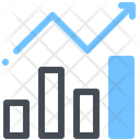 Finance Growth Analytics Report Icon