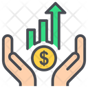 Analytics Career Coin Icon