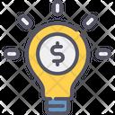 Finance Idea Idea Bulb Icon