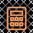 Finance Line Calculator Icon