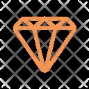 Finance Line Diamond Icon