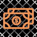 Finance Line Money Icon