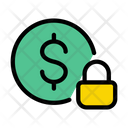 Dollar Lock Protection Icon