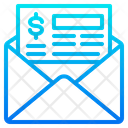 Finance Mail Mail Cheque Icon
