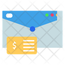Finance Mail Mail Invoice Icon