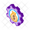 Cash Settings Bankruptcy Icon