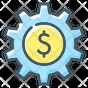 Setting Money Gear Icon