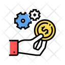 Hand Hold Coin Icon