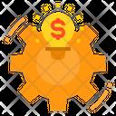 Finance Management Idea Icon