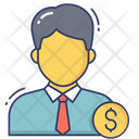 Finance Manager Employee Salary Human Icon
