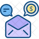 Finance Message Icon