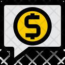 Finance Message Message Conversation Icon