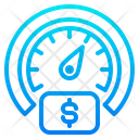 Scale Meter Money Icon