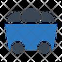 Finance Mining Cart Icon
