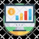 Data Chart Online Data Data Analytics Icon