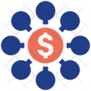 Money Connect Leader Management Icon