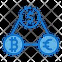 Network Bank Coin Icon