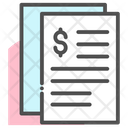 Finance Paper Document Documents Icon