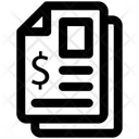 Contract Banking Dollar Icon