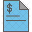 Property Certificate Flat Icon