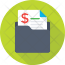 Finance Paper Folder Icon