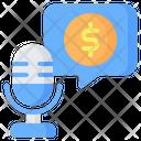 Finance Money Earning Icon
