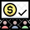 Business Financial Presentation Icon