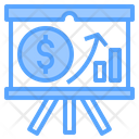Finance Presentation Icon