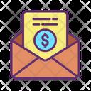 Finance Receipt Email Receipt Mail Receipt Icon